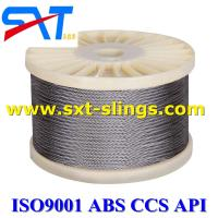 point line contacted galvanized steel wire rope 8*111SWSNS+FC 8*111SWSNS+IWR