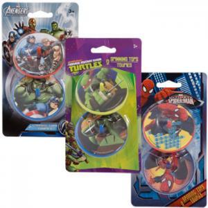 Funny Plastic Spinning Top Toys Teenage Mutant Ninja