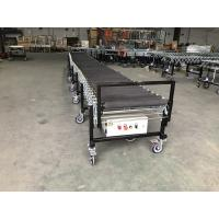 Flexible Rubber Coated Powered Roller Conveyor for transport bags