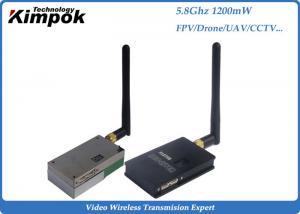 1200mW Wireless CCTV 5.8Ghz Video Transmitter Receiver 1000m - 2500m