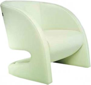 Single Modern Upholstered Chairs, Ginotti Italian Simple Leather ...