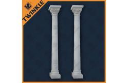 colonne de marbre en pierre naturelle d corative int rieure avec le pilier blanc en vente. Black Bedroom Furniture Sets. Home Design Ideas