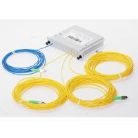 Fiber Optic FBT Splitter FC APC Connector Plug - In Type For FTTX System