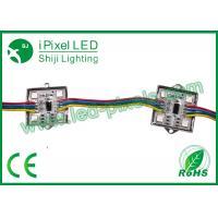 4pcsSMD5050 12v Arduino RGB ws2801 LED Square Pixel Module in metal case