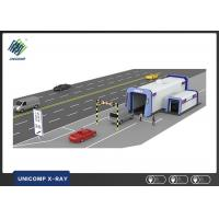 X Ray Vehicle Scanning System Double Viewing Angle For Small Cars / SUV