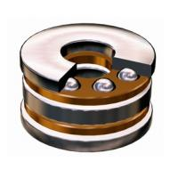 Thrust Ball Bearing With Raceway 708744, 8746 For Axial Load in One Direction