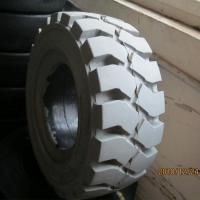 Professional 18X7 8 Forklift Tires Solid Resilient Tyres CE ISO9001 Certification