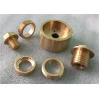Precision Brass Turning Parts / CNC Brass Machined Parts Polishing Brass Parts