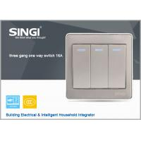 GNW56BK Hot China  British Style Wall Switch ,tactile switch led illuminated