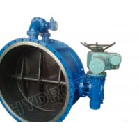 Gear Operated Flanged Butterfly Valve 1000mm for Hydropower