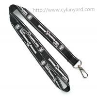 Office supply employee badge holder lanyards, polyester id card lanyards,