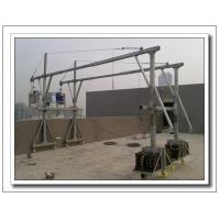 ZLP800 aluminium electric hoist suspended window cleaning platform