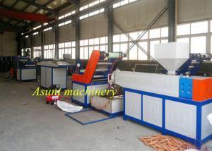 PLC control Plastic Rope Machine , PP PE nylon rope machine baler