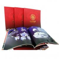 OEM / ODM Sewing Binding Softcover Book Printing with glossy art paper for Advertising
