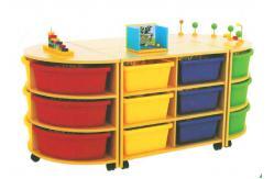 mobiliario de aula kinder preescolar para ni os h 09106