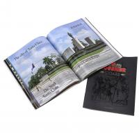 Full Color Book 12 Pages Brochures Printing Custom Design Products Catalogues Logo Embossing Printed