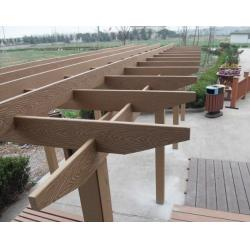 China Anti-UV Wood Plastic Composite Corridor and Eco-friendly WPC Construction on sale