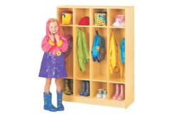 Kinder kids locker muebles para almacenamiento de escudo h for Mobiliario para kinder