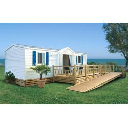 China Europe Style Prefabricated Mobile House / Luxury Mobile Homes For Living / colorbond roofing on sale