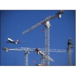 China Flat-Top QTZ63P Tower Crane MLP5013 max load 6t-minglongmachinery@gmail.com on sale