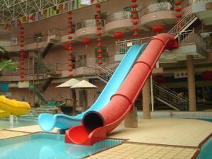 Indoor Outdoor Fiberglass Water Slides