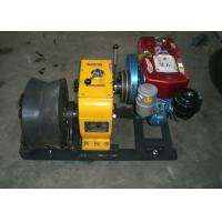 5 Ton Diesel Engine Cable Winch Puller With 400 Diameter Cable Capstan for Wire Rope Pulling