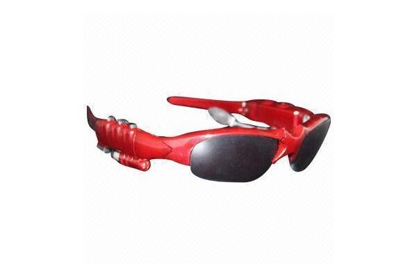 blue oakley sunglasses  mp3 sunglasses