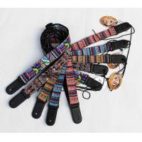120-180 Cm Classic Personalised Guitar Strap Dye Sublimation Printed Logo