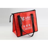 2.5cm Handle Non Woven Tote Bag , Foldable Non Woven Bag Silk Screen Printing