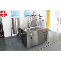 Snow Sprays / Party Strings Semi Automatic Aerosol Filling Machine In Party , Wedding , Festival