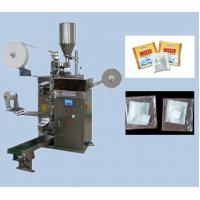 tea bag packing machinery with outer envelope