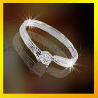 fashion design ladylike 925 sterling silver ring ,CZ jewelry