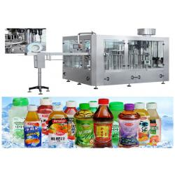 China Easy Cleaning PET Bottle Filling Machine For Fresh Fruit Juice RCGF 18-18-6 on sale