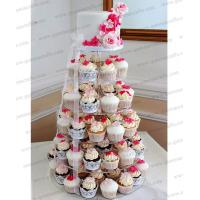 CD (138) wonderful 6 tier acrylic wedding cup cake stand