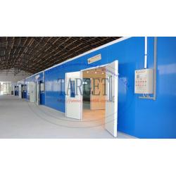 China Industrial spray booth/furniture spray booth/wood spray booth on sale