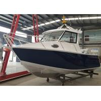 Center Cabin Aluminum Fishing Boats 8m / 26ft Basic length corrosion resistance