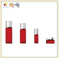 Hot Sale Classic Red Coated Cosmetic Glass Bottle