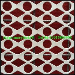 China Round Hole Perforated metals supplier/Decorative perforated sheet metal on sale