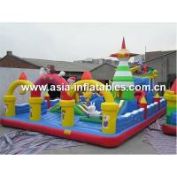 Customized Inflatable Playground / Playgrounds With Business Logo