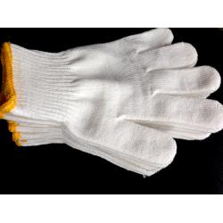 China 10G Cotton working gloves,knitted cotton gloves,bleached white colour on sale