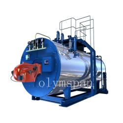 China High Pressure Gas Fired Steam Boiler , 1 Ton Atomized Steel Steam Gas Heating Boiler on sale