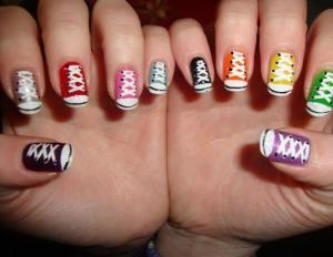 Beautiful Nail Art Fake Nails Colorful For Little Girls Decorated For Sale Nail Art Fake