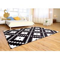 Outdoor / Indoor Area Rugs With PVC Coated Dots Wear Resistance Sound Reduction