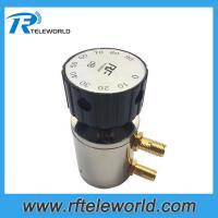 SMA knob Manually variable attenuators 6Ghz 50ohms