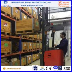 China pallet rack warehouse rack with galvanized bracings to save cost on sale