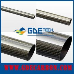 China 2meter 3k carbon fiber pipe on sale