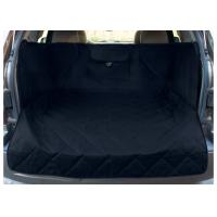 Extended Width Quilted Dog Car Seat Covers Black Color For Any Animal