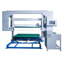 D & T Loop Knife PU Foam Cutting Machine Horizontal Revolving Contour Cutter