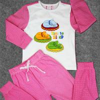 Cute Newborn Baby Clothes Set Printed Cotton Toddler Boys Clothing
