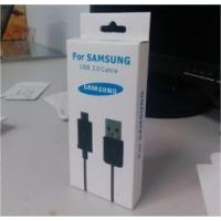 Printed USB Cable Box Packing / Paper Box Packaging For Electronic Product